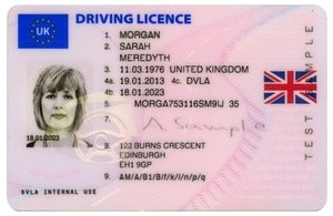 driving licence number generator uk